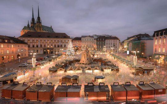 Adventi vásár a csehországi Brnóban